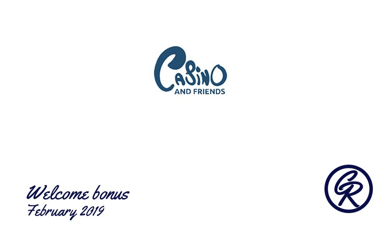New recommended bonus from CasinoAndFriends February 2019, 25 Free-spins