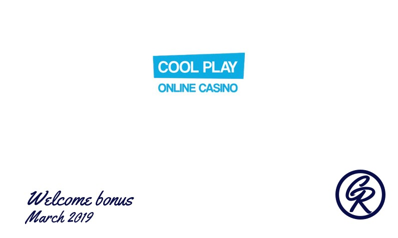 New recommended bonus from Cool Play Casino March 2019, 20 Freespins