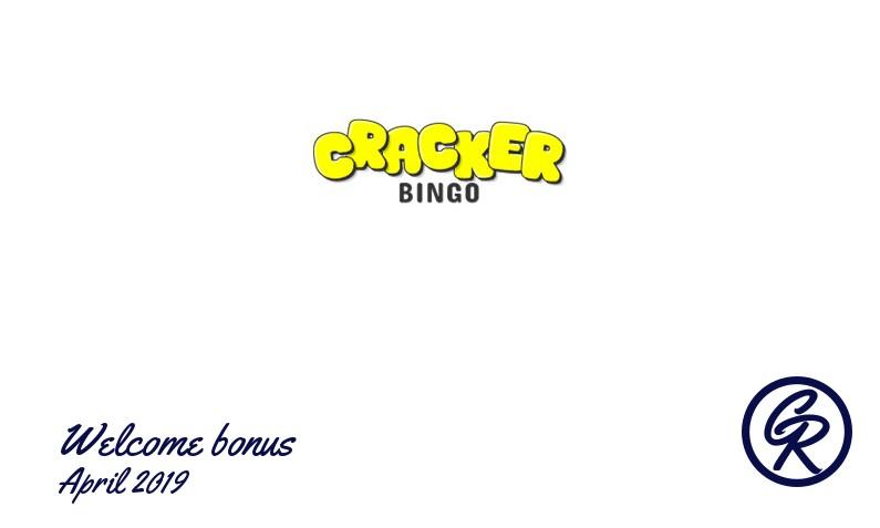 New recommended bonus from Cracker Bingo Casino April 2019, 10 Bonus-spins