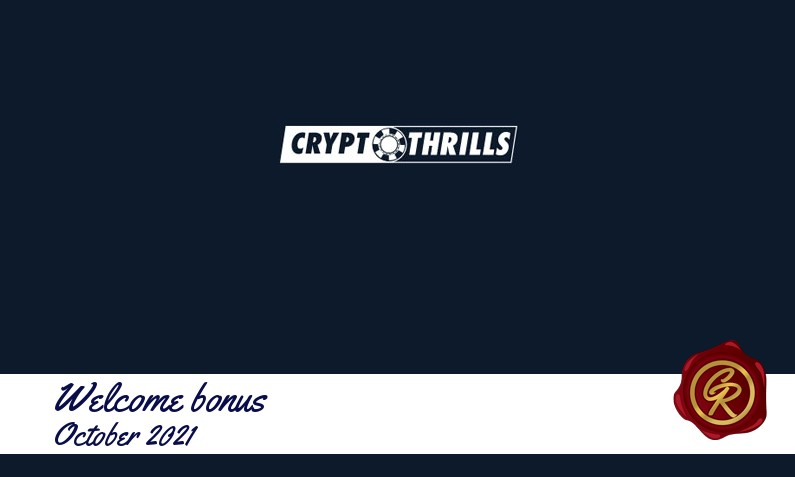 New recommended bonus from Cryptothrills Casino