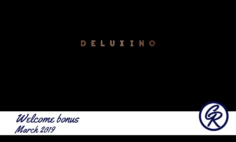 New recommended bonus from Deluxino Casino March 2019, 25 Freespins
