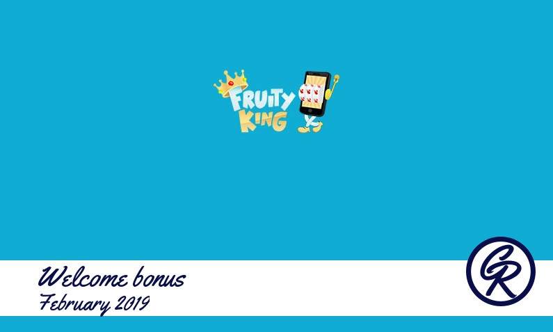 New recommended bonus from Fruity King Casino, 15 Bonus-spins