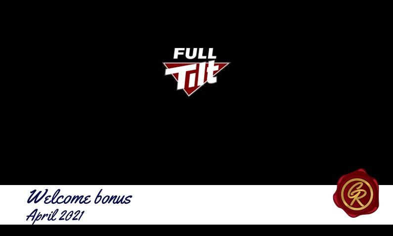 New recommended bonus from Full Tilt, 100 Spins