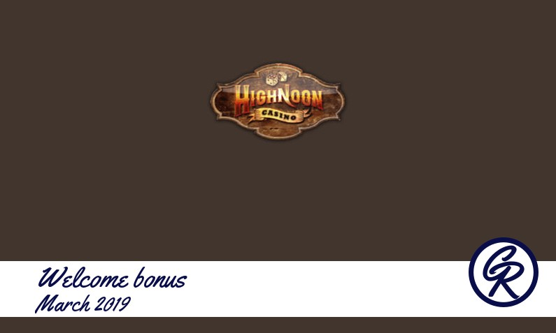 New recommended bonus from Highnoon Casino