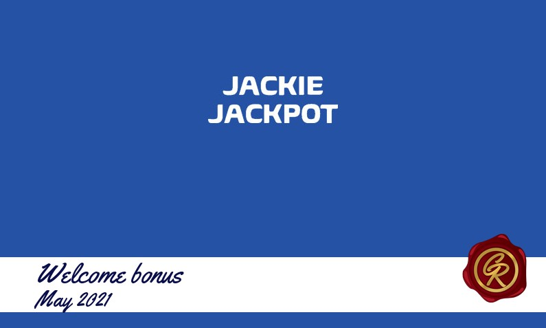 New recommended bonus from Jackie Jackpot, 25 Free spins