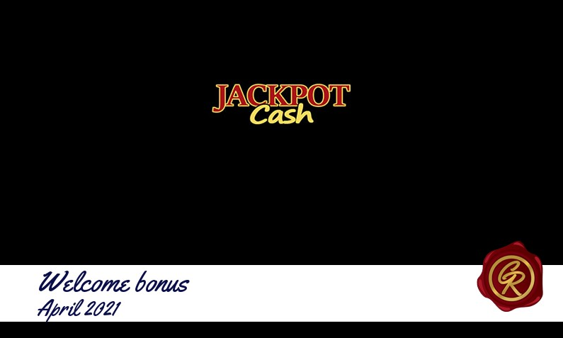 New recommended bonus from JackpotCash April 2021
