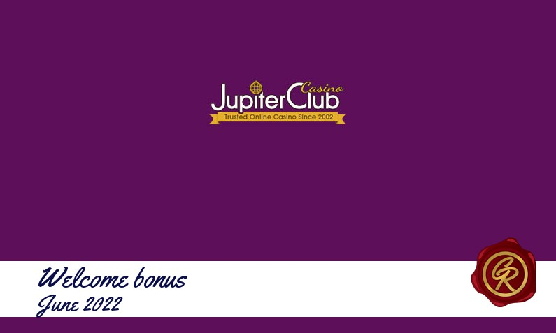 New recommended bonus from Jupiter Club Casino