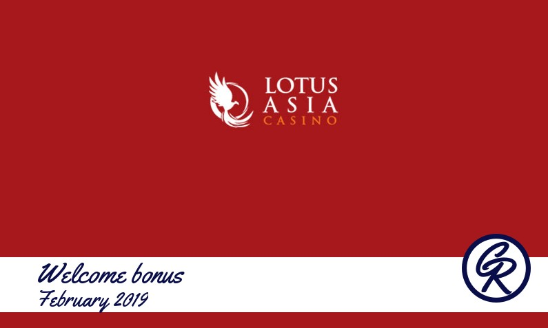New recommended bonus from Lotus Asia Casino