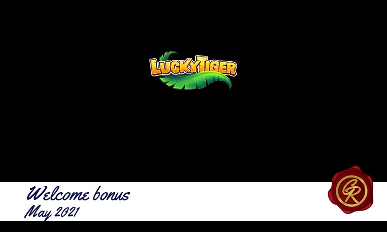 New recommended bonus from Lucky Tiger May 2021, 35 Extra spins