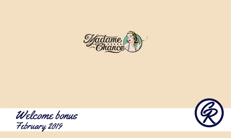 New recommended bonus from Madame Chance Casino February 2019