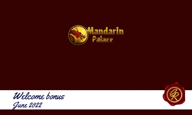 New recommended bonus from Mandarin Palace Casino