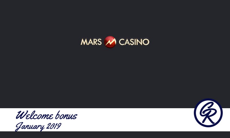 New recommended bonus from Mars Casino, 50 Freespins