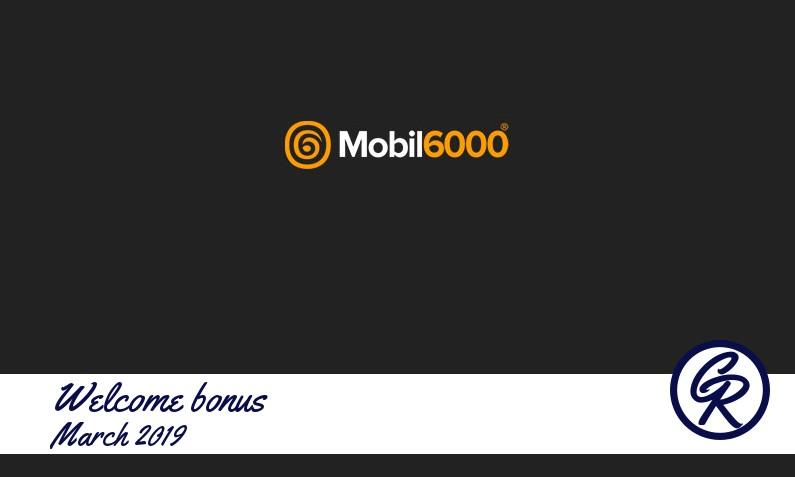 New recommended bonus from Mobil6000 Casino, 40 Free spins bonus
