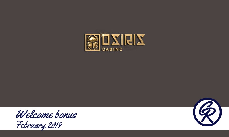 New recommended bonus from Osiris Casino, 50 Free spins bonus