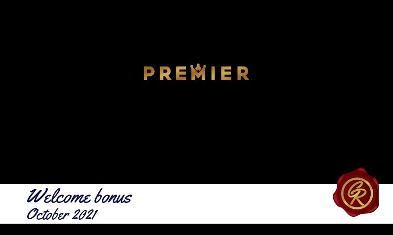 New recommended bonus from Premier October 2021, 20 Free spins