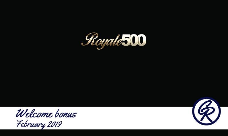 New recommended bonus from Royale 500 Casino February 2019, 25 Bonus spins