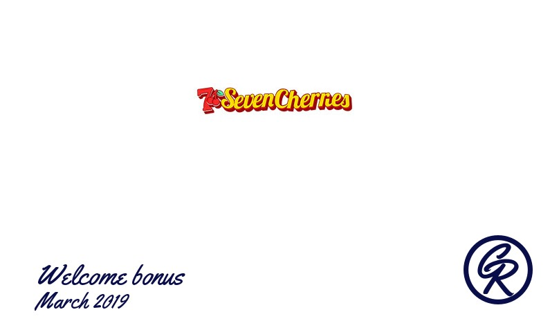 New recommended bonus from Seven Cherries Casino March 2019, 25 Bonus spins