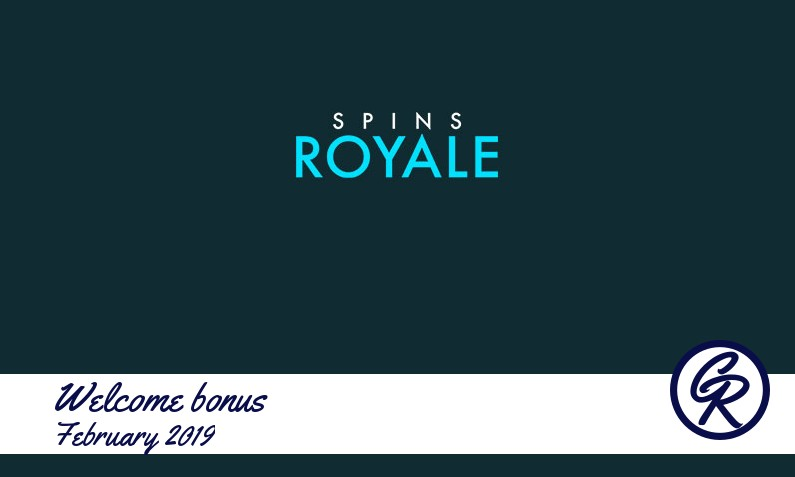 New recommended bonus from Spins Royale Casino February 2019, 25 Free-spins