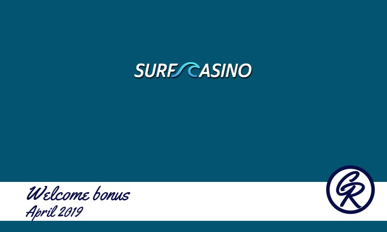 New recommended bonus from Surf Casino April 2019