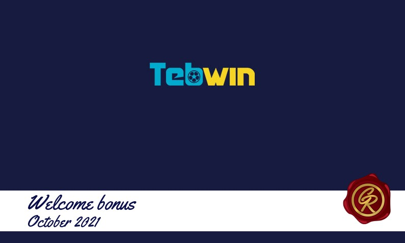 New recommended bonus from Tebwin October 2021, 20 Free spins bonus