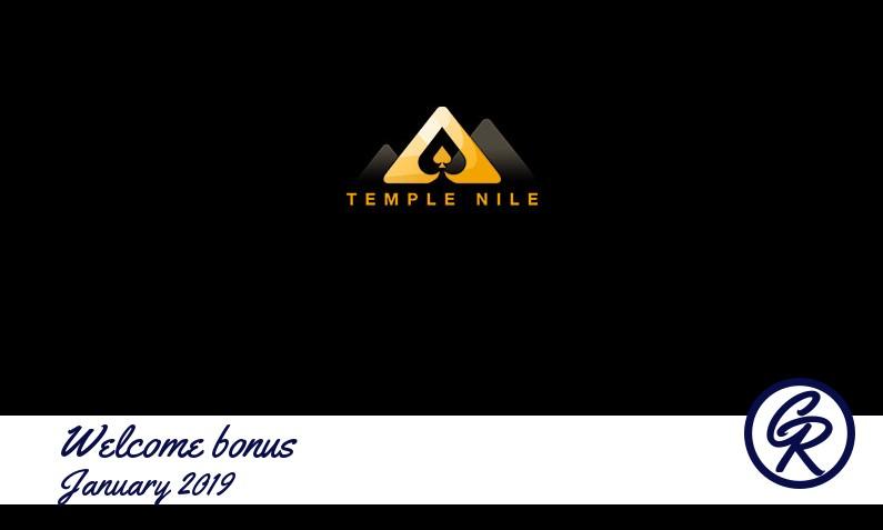 New recommended bonus from Temple Nile Casino January 2019, 30 Bonus spins
