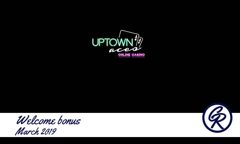 New recommended bonus from Uptown Aces Casino March 2019, 30x(d+b) Free spins