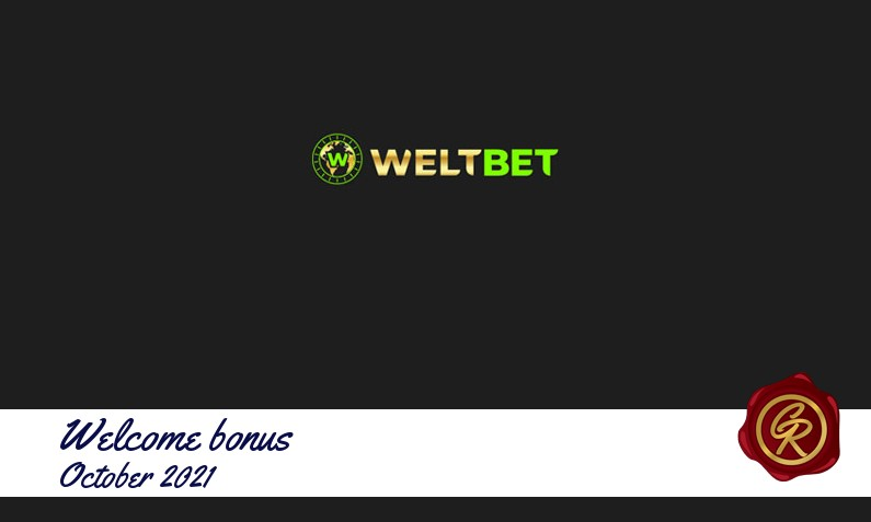 New recommended bonus from Weltbet