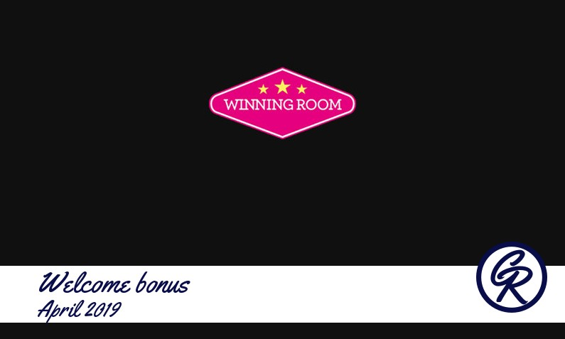 New recommended bonus from Winning Room Casino April 2019, 1 Bonus-spins