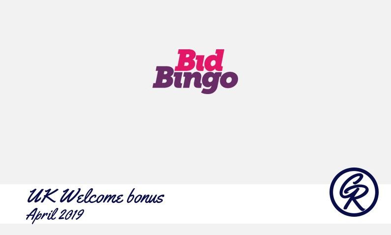 New recommended UK bonus from Bid Bingo Casino, 25 Freespins