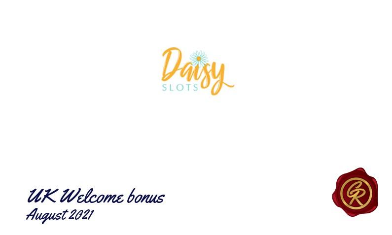 New recommended UK bonus from Daisy Slots August 2021, 500 Bonus-spins