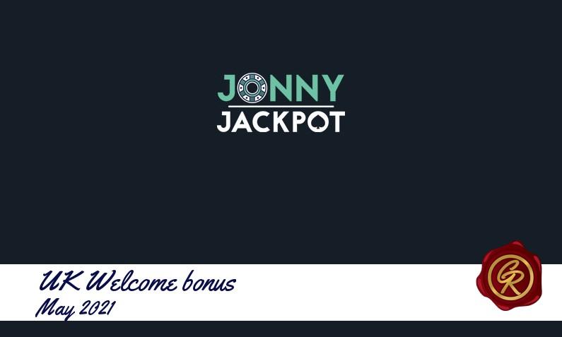 New recommended UK bonus from Jonny Jackpot Casino May 2021, 100 Bonus-spins