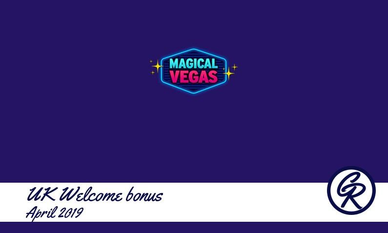 New recommended UK bonus from Magical Vegas Casino April 2019