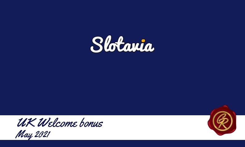 New recommended UK bonus from Slotavia