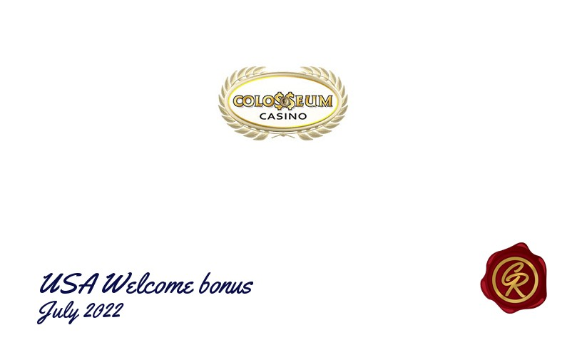 New recommended USA bonus from Colosseum Casino