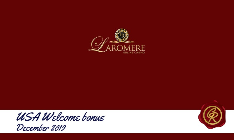 New recommended USA bonus from LaRomere Casino