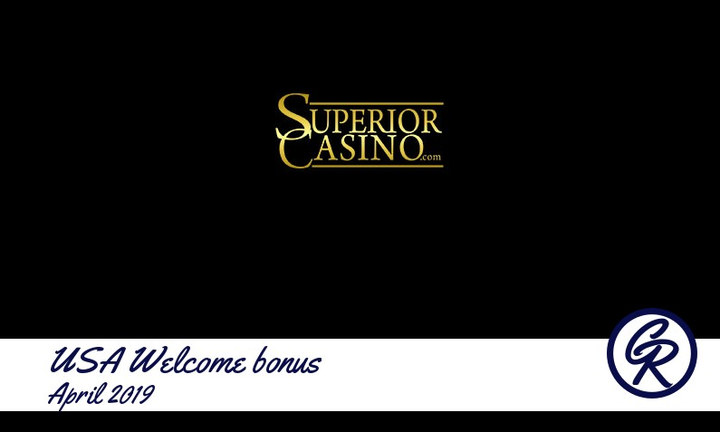 New recommended USA bonus from Superior Casino, 100 Free spins