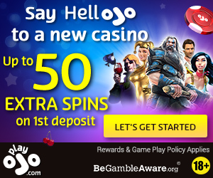Latest no deposit bonus from Play Ojo Casino