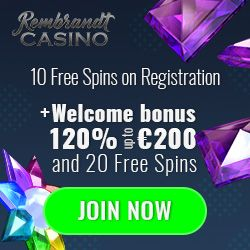 Latest no deposit bonus from Rembrandt Casino