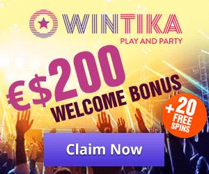 Latest no deposit bonus from Wintika Casino